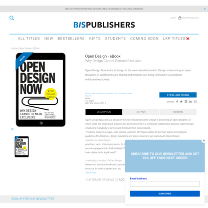 Open Design - eBook
