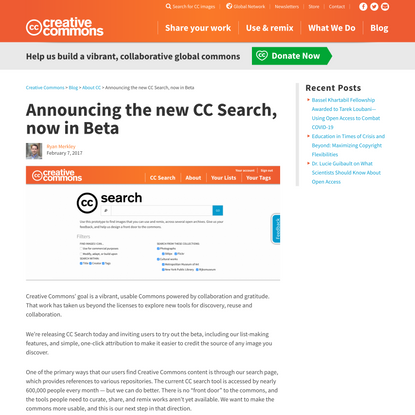 Announcing the new CC Search, now in Beta - Creative Commons