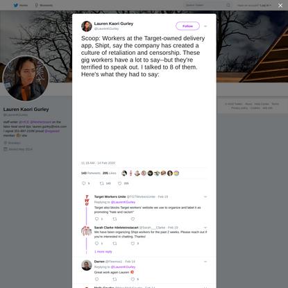 Lauren Kaori Gurley on Twitter