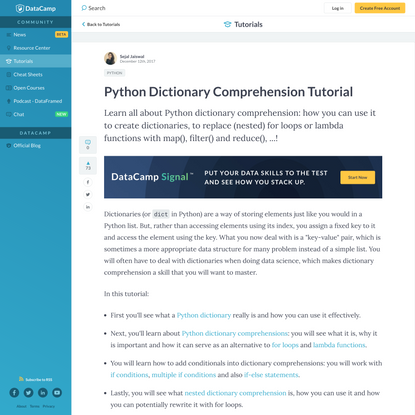 Python Dictionary Comprehension Tutorial