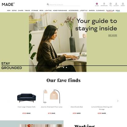 MADE.com: Designer Furniture | Mid-season sale