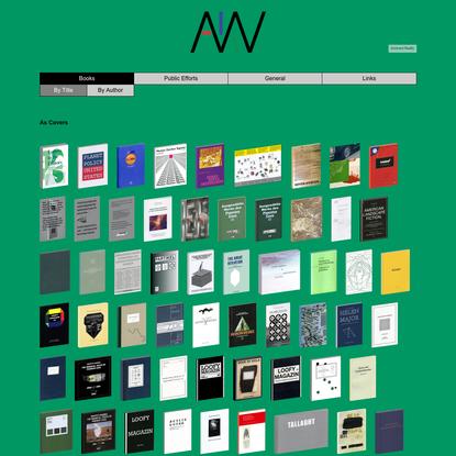 AKV Berlin - Books