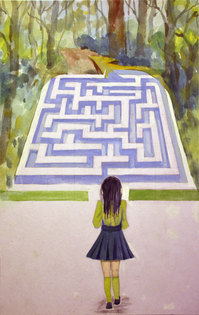 'Life is a Maze' by Maggie Y.