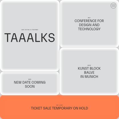 TAAALKS - Challenging Boundaries