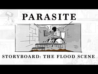 Storyboard: Parasite's Flood Scene