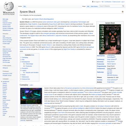 System Shock - Wikipedia