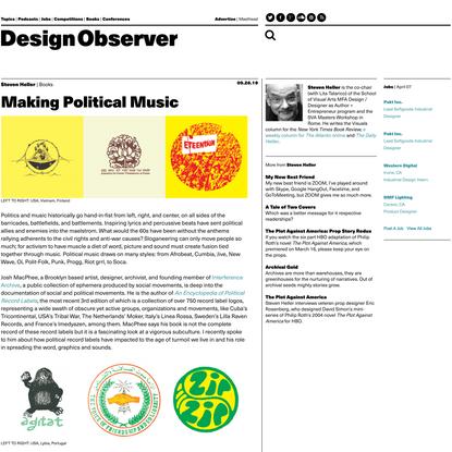 Making Political Music