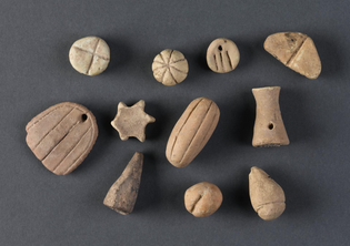 Ancient counting stones