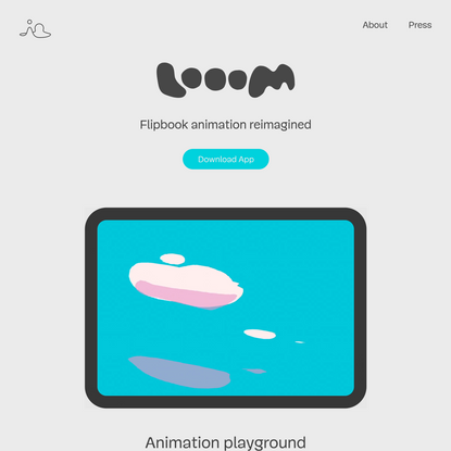 Looom — Hand-Drawn iPad Animation App