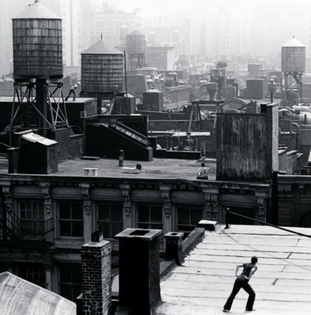 Trisha Brown, Roof Piece