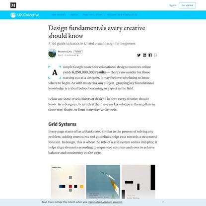 Design fundamentals every creative should know
