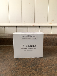La Cabra Coffee, Mukurweini AA (Kenya), 2019