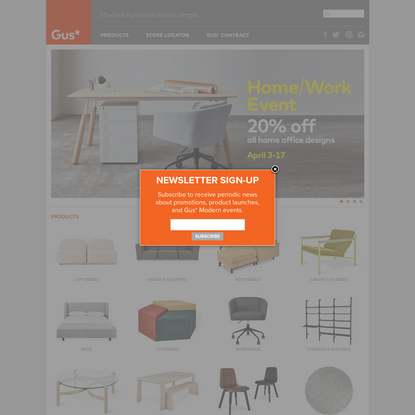Gus* Modern | Modern Furniture Made Simple