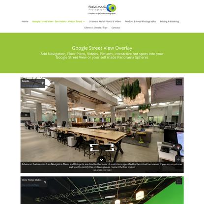 Google Street View Overlay Examples