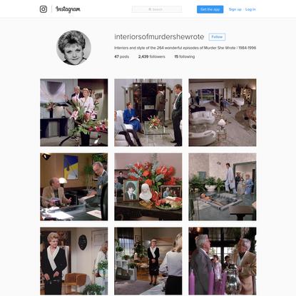 @interiorsofmurdershewrote * Instagram photos and videos