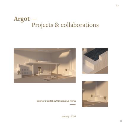 Work - argot studio