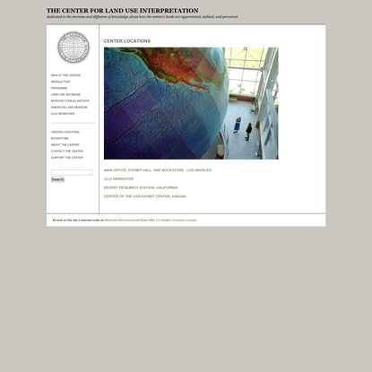 The Center for Land Use Interpretation
