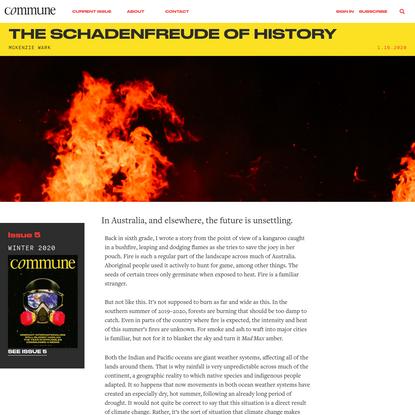 The Schadenfreude of History | Commune