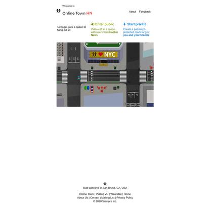 Online Town