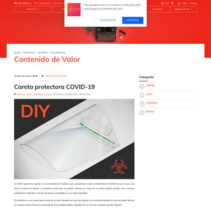 Careta protectora COVID-19