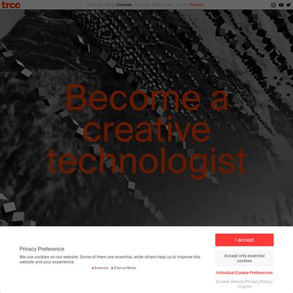 courses Archive * tim rodenbröker creative coding