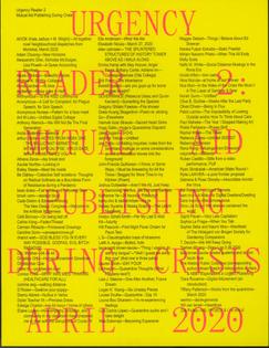 Urgency Reader 2: Mutual Aid Publishing During Crisis