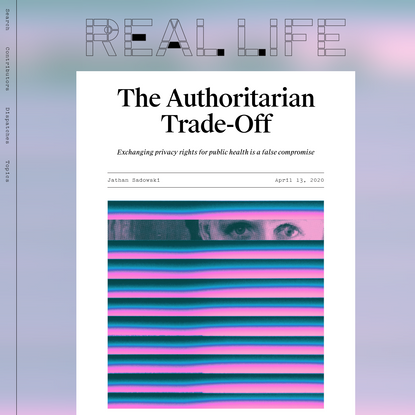 The Authoritarian Trade-Off - Real Life