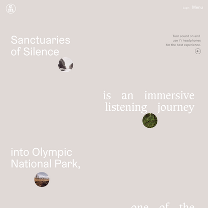 Emergence Magazine: Sanctuaries of Silence