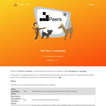Peers - Home