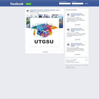 University of Toronto, Graduate Students' Union - UTGSU