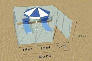 Box in plexiglass tra gli ombrelloni e distributori di dinfettante: le misure di sicurezza per la spiaggia, pensate per l'es...