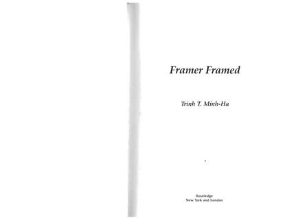 Famer Famed by Trrinh-T.-Minh-Ha