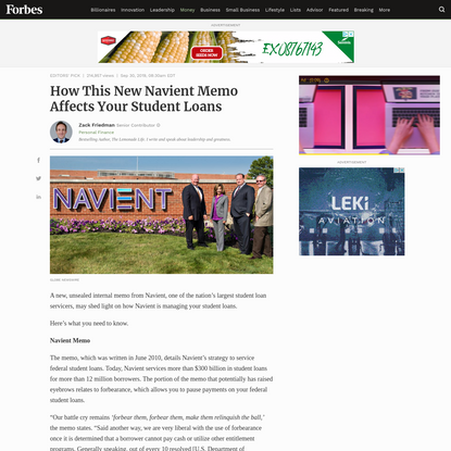 How This New Navient Memo Affects Your Student Loans