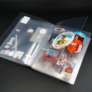 My handmade sticker book 👀