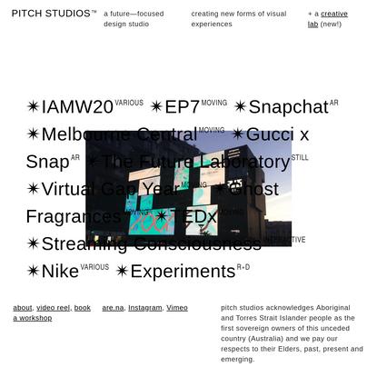 PITCH STUDIOS™
