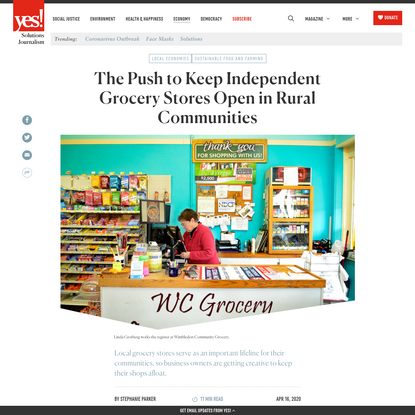The Push to Keep Independent Grocery Stores Open in Rural Communities - Yes! Magazine