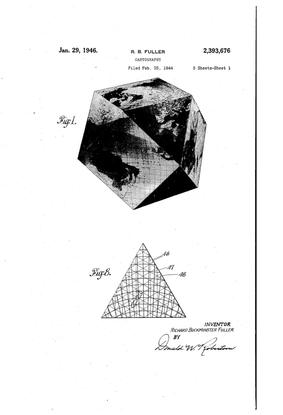 Buckminster Fuller– Patent – Dymaxion Map