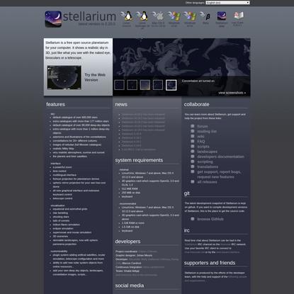 Stellarium Astronomy Software