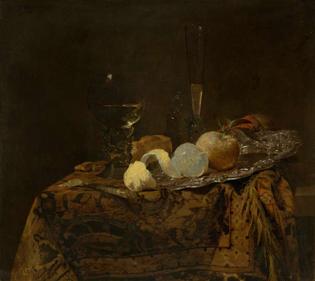 BAROKO_Willem Kalf, zátiší