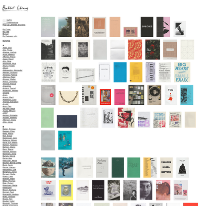 BOOKLET LIBRARY - By Cover