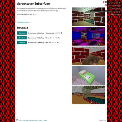 Screensaver Subterfuge