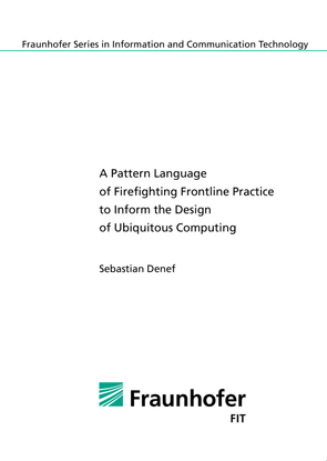 A Pattern Language of Firefighting Frontline Practice to Inform the Design of Ubiquitous Computing