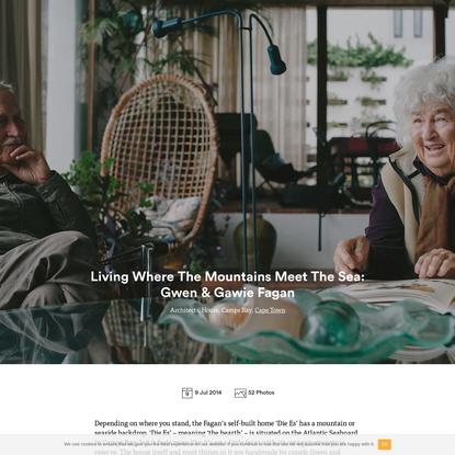 Living Where The Mountains Meet The Sea: Gwen & Gawie Fagan