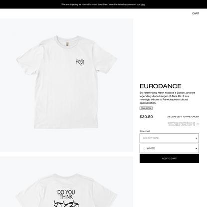 eurodance apparel | Everpress