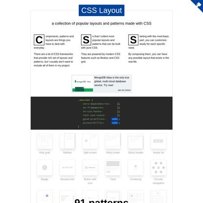 CSS Layout
