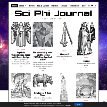 Home ~ Sci Phi Journal