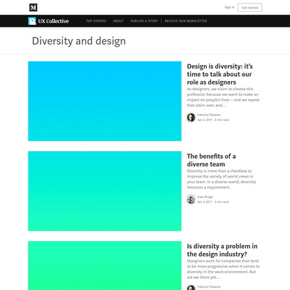 Diversity and design - UX Collective