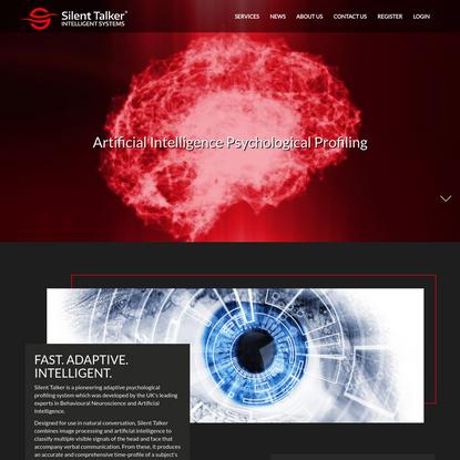 UK Home | Silent Talker: Intelligent Systems