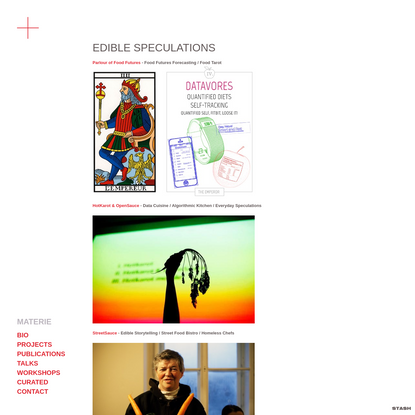 EDIBLE SPECULATIONS