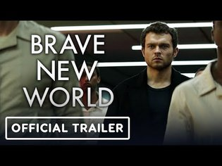 Brave New World: Official Teaser Trailer (2020) Alden Ehrenreich, Demi Moore
